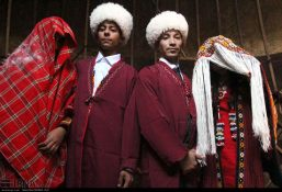 تصاویر دیدنی از مراسم ازدواج سنتی ترکمن ها