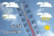 بارندگی شدید و کاهش ۱۵ درجهای دمای هوا در گیلان
