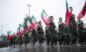 رژه یگانهای نظامی و انتظامی در گیلان