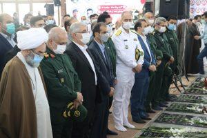 گزارش تصویری از گرامیداشت سوم خرداد در گلزار شهدای رشت