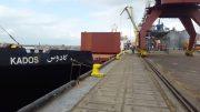 فیلم/ تخلیه اولین محموله غلات در سیلوی ۴۵ هزار تنی کشتیرانی خزر در بندر انزلی