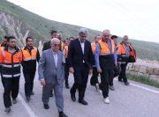بازدید استاندار گیلان از روند کمک رسانی نیروهای اعزامی گیلان به مناطق سیل زده لرستان